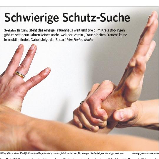 Zeitung Leo Artikel Schwierige Schutzsuche 30.5.2020